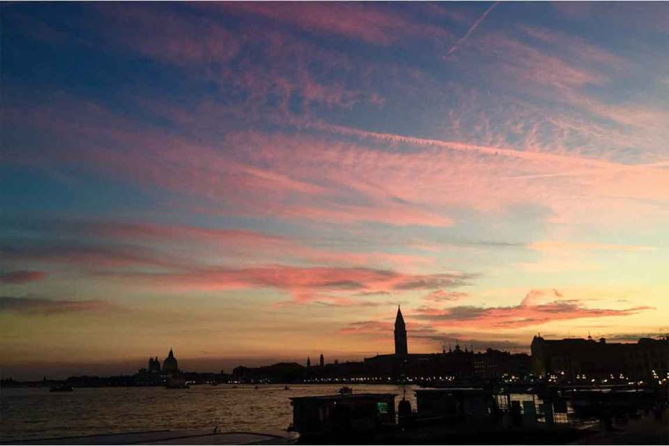 Best things to do in Venice Italy Sunset