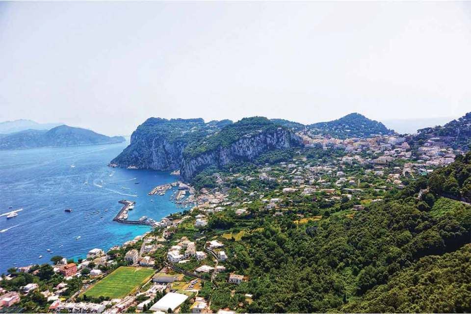 Best Things to do in Capri views from above