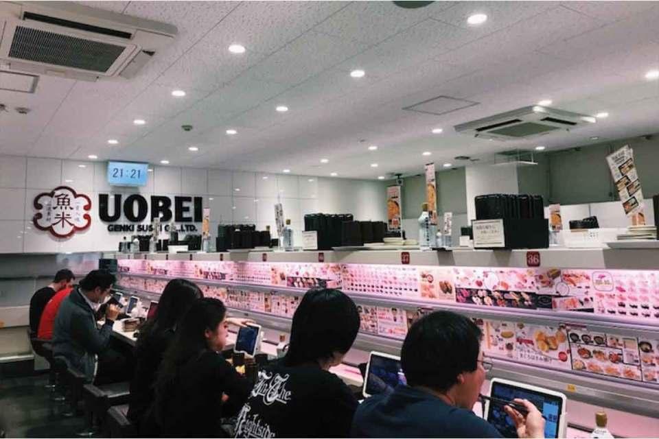 conveyor belt sushi tokyo
