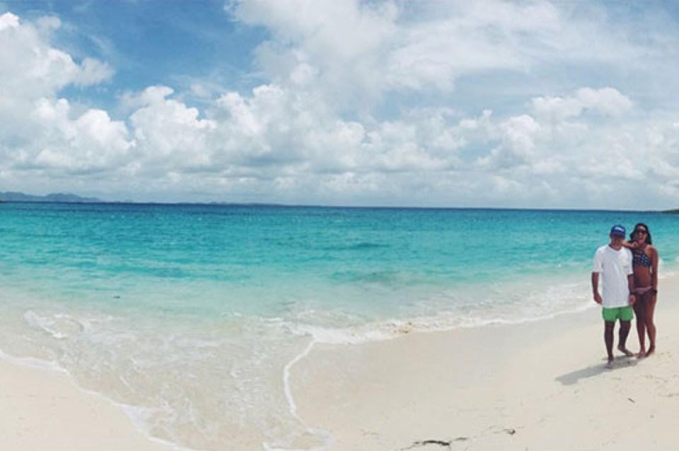 Beach Panorama Anguilla