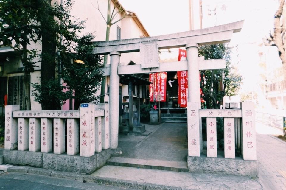 Spontaneous Tokyo Shrines