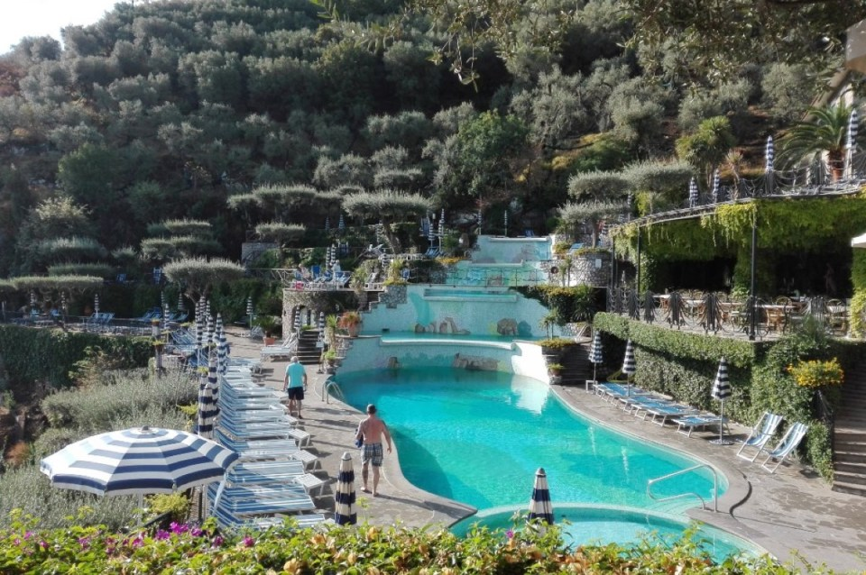 Pool Terraces Grand Hotel Capodimonte