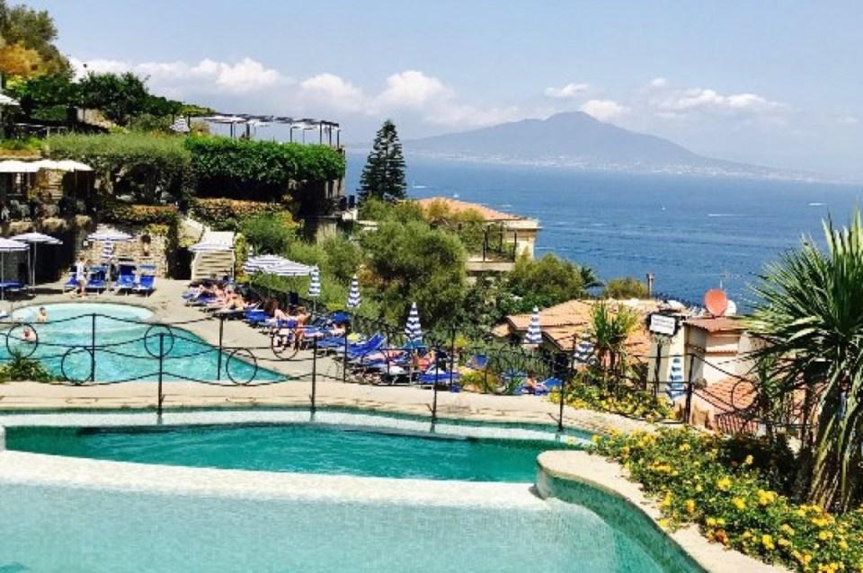 Pool Grand Hotel Capodimonte