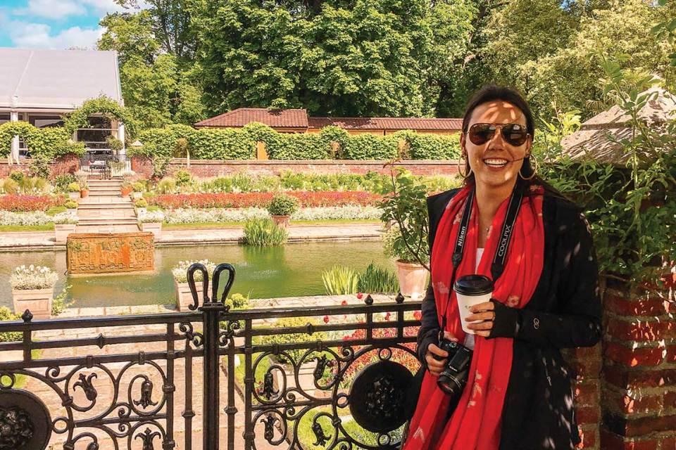 Kensington Palace Selfie