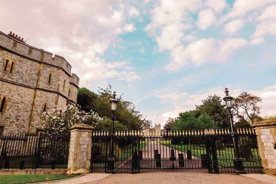 windsor castle entrance