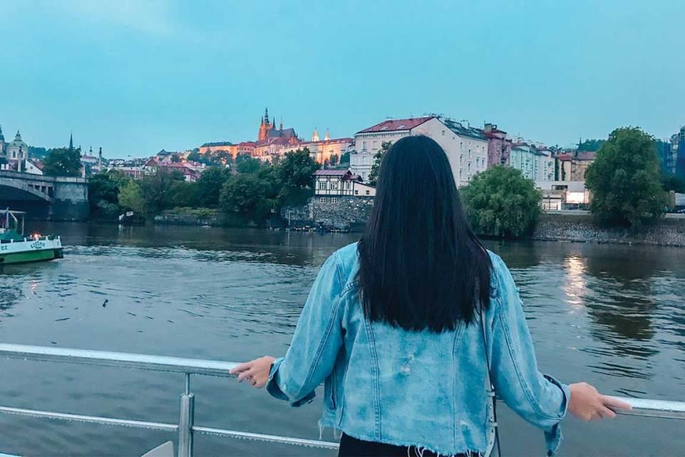 River Boat Cruise in Prague Views