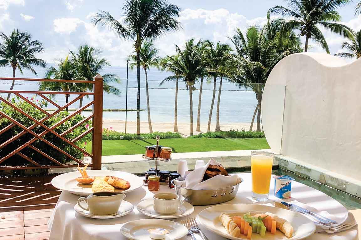 Grand Velas Breakfast