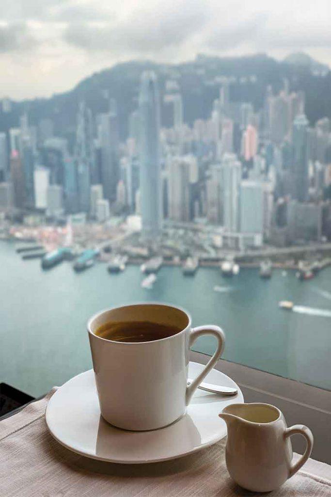 Ritz Carlton Hong Kong Skyline