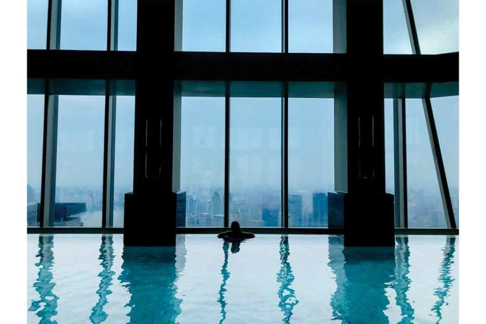 Ritz Carlton Shanghai Pudong Pool
