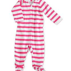 aden + anais Long Sleeve Zipper Footie (one piece)