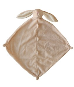 beige bunny lovie angel dear