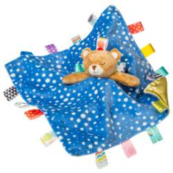 Taggies Starry Night Teddy Character Blanket