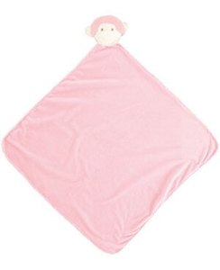 Pink Monkey blanket angel dear