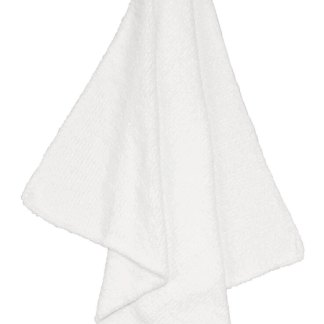 angel dear white chenille blanket