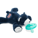 boston red sox wubbanub pacifier