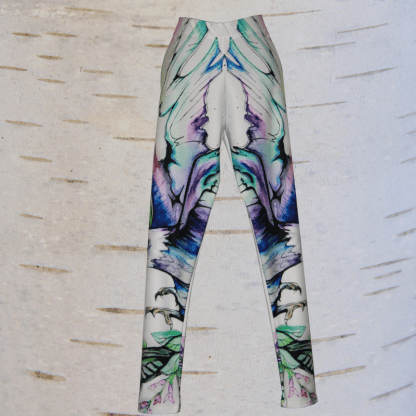 image of eagle leggings