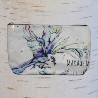 image of eagle make up bag