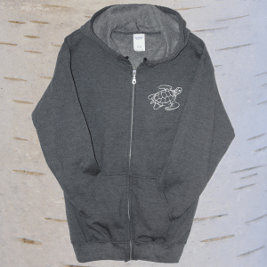 image of seven teachings turtle hoodie