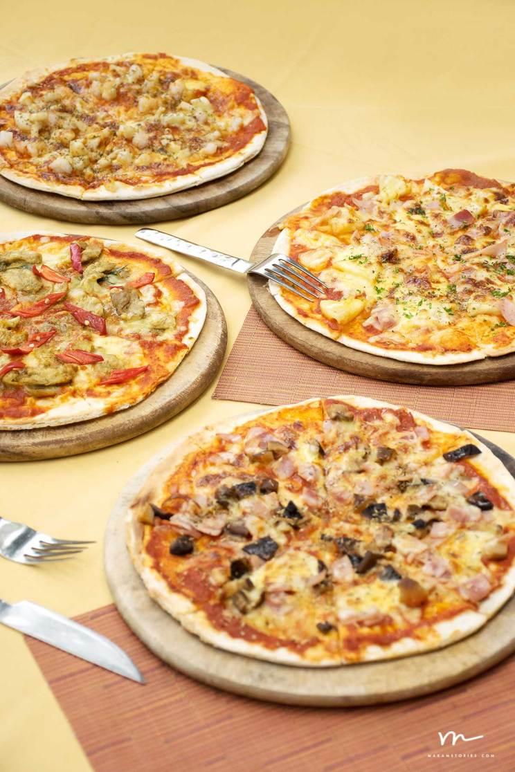 ผลงานภาพถ่ายอาหาร พิซซ่า Pizza