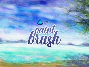 วิธีสร้างหัวแปรง Paint Brush ใช้งานเอง ในโปรแกรม Affinity Designer
