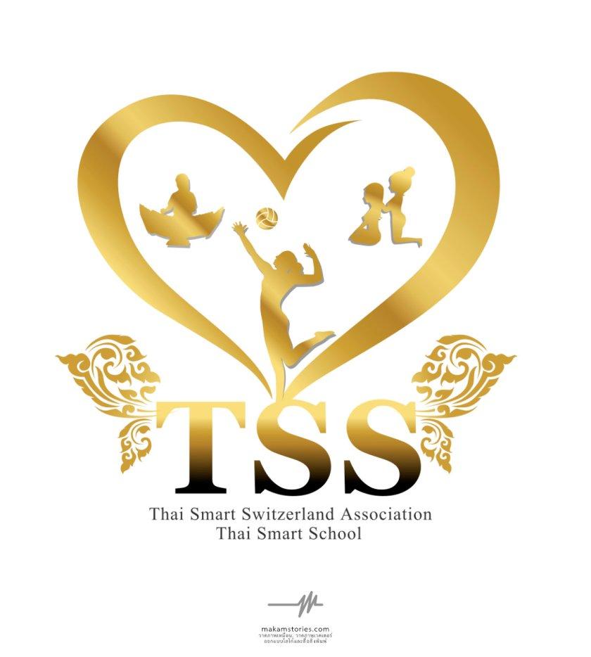 ผลงานออกแบบโลโก้สมาคม ชมรม Thai Smart School ชมรมเพื่อคนไทยในต่างประเทศ