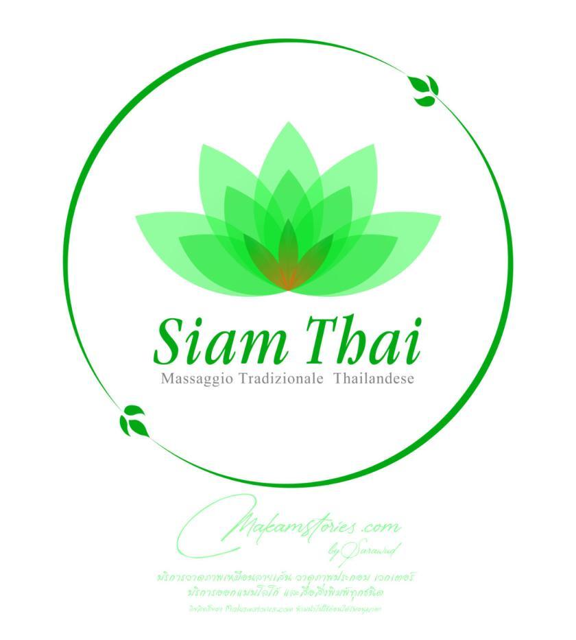 งานออกแบบโลโก้ร้านนวดแผนไทย Traditional Thai Massage Logo Design