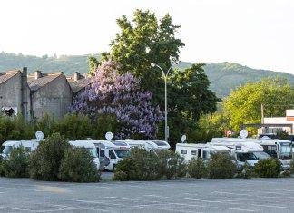 Tournon-sur-Rhône   Übernachtungsplatz