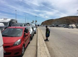 Warteschlangen in Ceuta