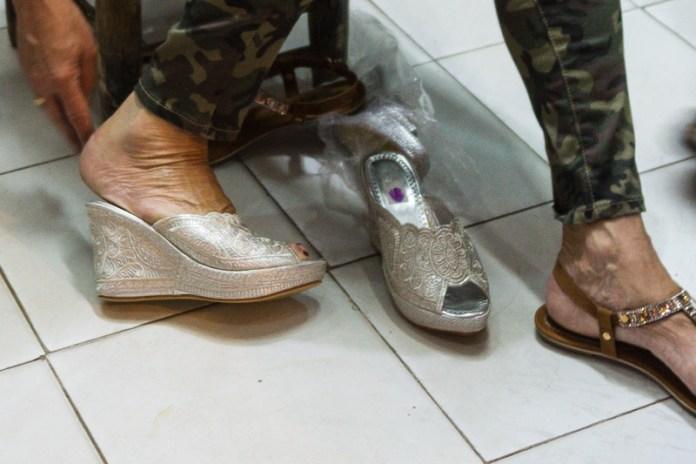 Schade - das mit den Prinzessinnen Schuhe wurde leider nichts