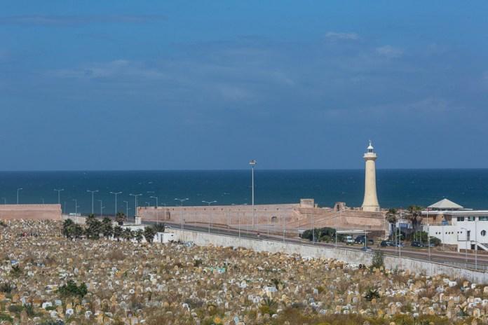 Rabat - hier liegt man für ewig am Meer ...