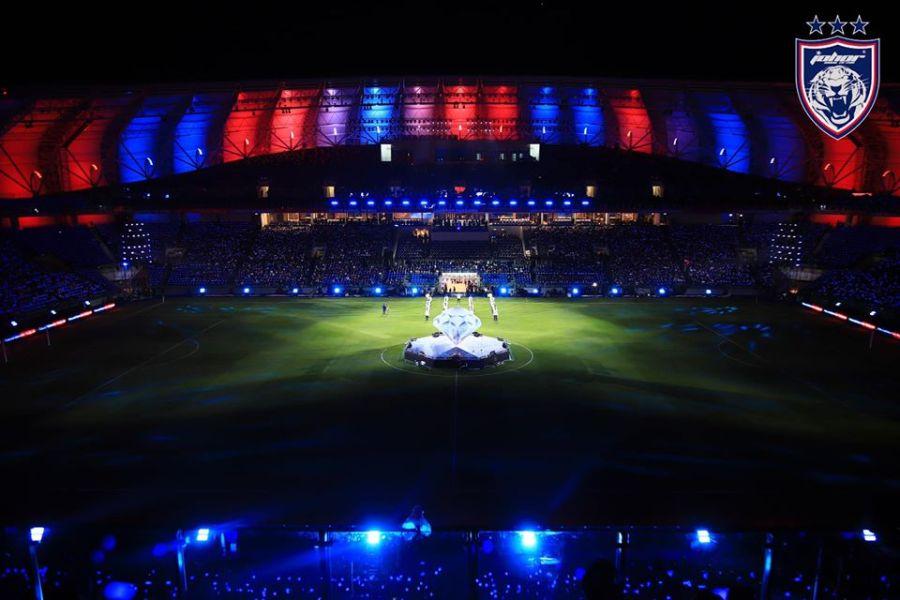 85217645 1603509886478971 2105945726495227904 o Persis Liga Juara-Juara UEFA, Stadium Sultan Ibrahim Dibuka Secara Rasminya