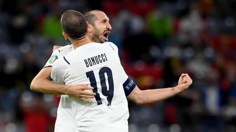 Chiellini Bonucci Bagaimana Roberto Mancini Bentuk Itali Julang Kejuaraan Euro 2020