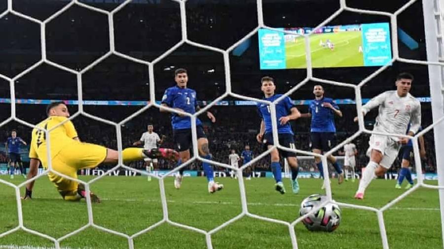 Morata Goal Euro 2020 : Itali 'Berpeluh' Ke Final
