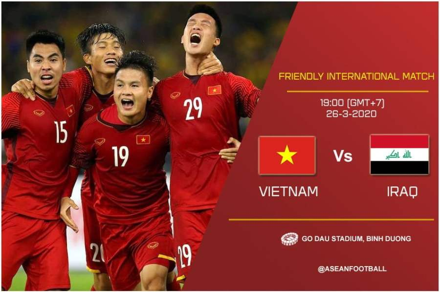 Vietnam Vietnam Goyang Jumpa Malaysia, Atur Persahabatan Dengan Iraq Sebagai Persediaan