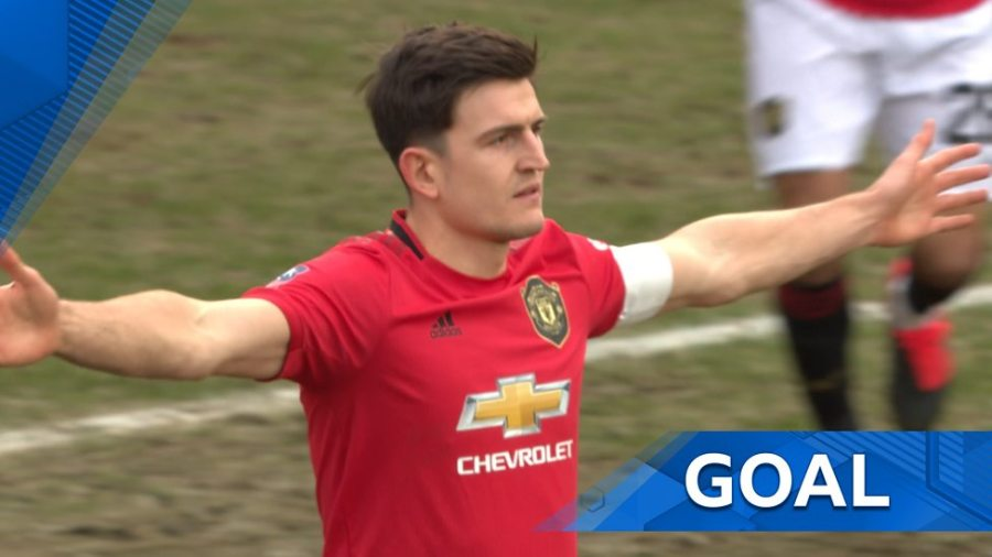 maguire Piala FA 19/20: Manchester United Belasah Tranmere Rovers 6-0