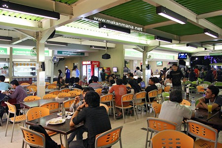 Amaliun Food Court 1