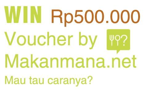 Makanmana.net bagi2 voucher! 2