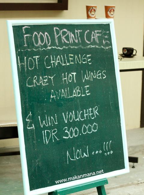 Food Print Cafe, Multatuli (Closed) 3