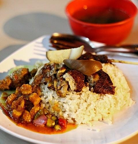 Nasi Ayam - Nasi Tim Acu 1