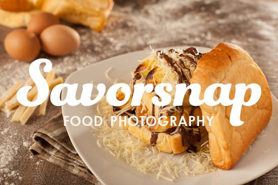 Introducing Savorsnap - food photography 1