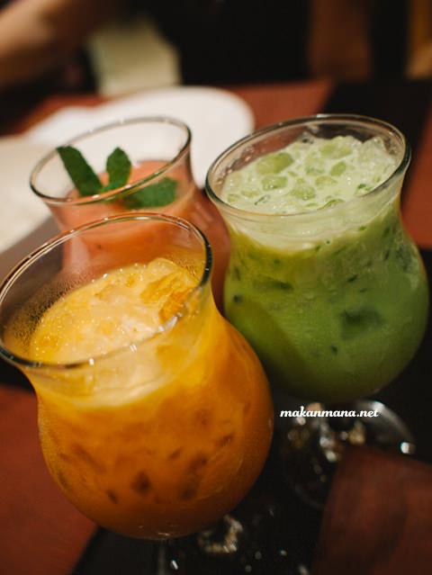 Thai Tea - Thai Green Tea   - 17,5rb