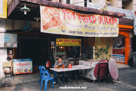 Lokasi Top Fried Chicken