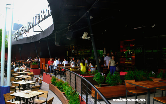 Outdoor area district 10 medan
