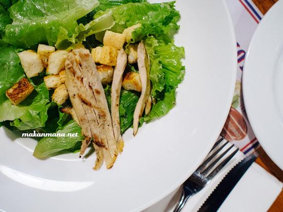 smokey chicken caesar salad