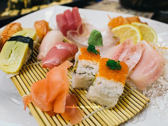 dr sushi sashimi set
