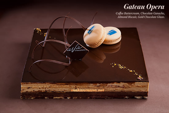 eve chocolaterie gateau opera