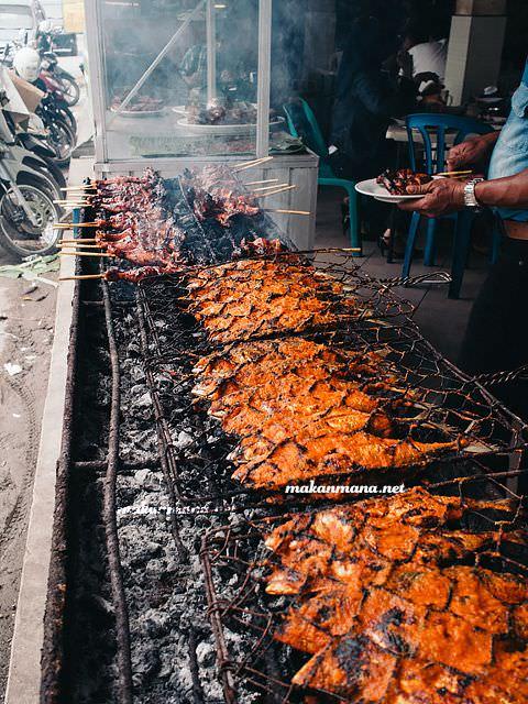 ikan bakar tisya RM Warung Tisya, Jalan Sekip