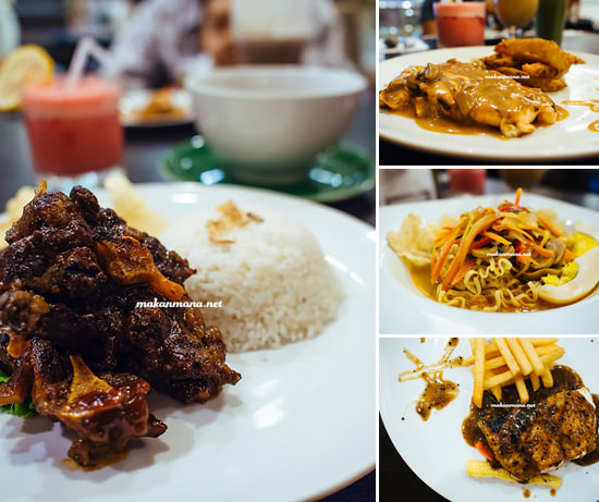 From Western to Indonesian cuisine, typical food served in Cafes