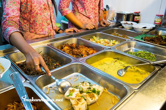 Berkah Vegetarian menu Berkah Vegetarian, Jalan Serdang Ujung