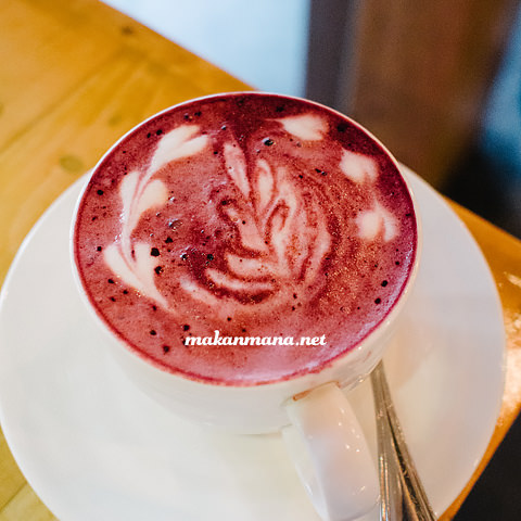 red velvet latte Coffee knowledge with Ronald Prasanto, Pilastro